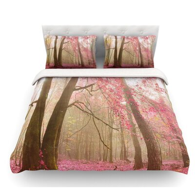 Atmospheric Autumn by Iris Lehnhardt Featherweight Duvet Cover Size: Queen