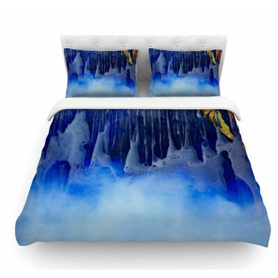You and Me by Josh Serafin Featherweight Duvet Cover Size: Queen