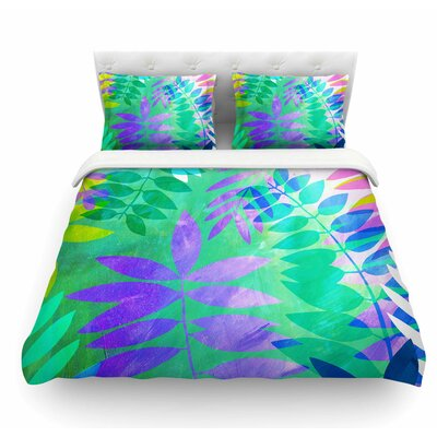 Jungle by Jessica Wilde Featherweight Duvet Cover Size: King