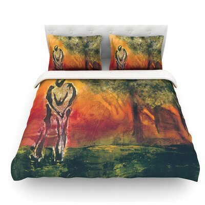 Par by Josh Serafin Golf Featherweight Duvet Cover Size: King