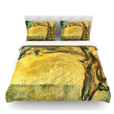 No Reason to Hide by Josh Serafin Featherweight Duvet Cover Size: King