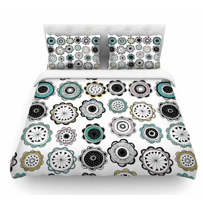 Carnival by Jessica Wilde Featherweight Duvet Cover Size: King