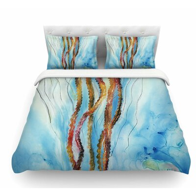 Protein Boost by Josh Serafin Featherweight Duvet Cover Size: King