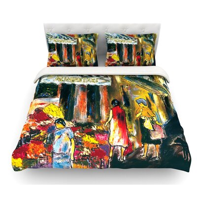 Alimentari by Josh Serafin Featherweight Duvet Cover Size: Twin