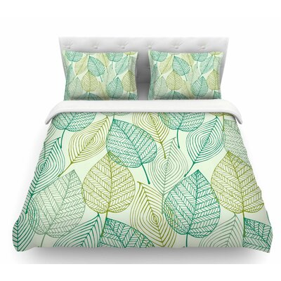Make Like a Tree  Featherweight Duvet Cover Size: Twin