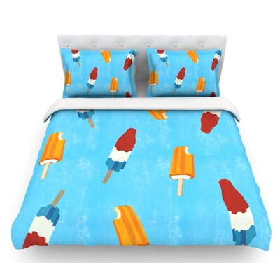 Feels like Summer  Food Featherweight Duvet Cover Size: King