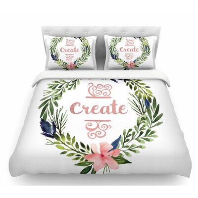 Create  Featherweight Duvet Cover Size: Twin