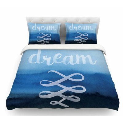 Dream  Featherweight Duvet Cover Size: Queen