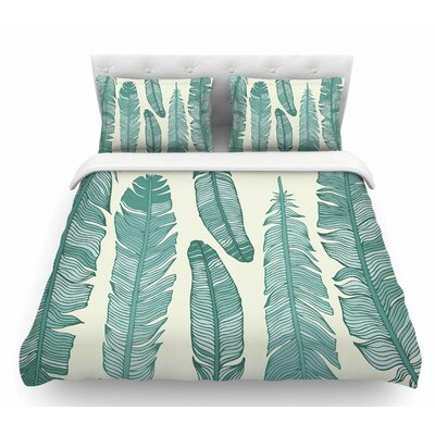 Balsam Feathers  Featherweight Duvet Cover Size: King