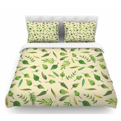 I Be-Leaf in You  Featherweight Duvet Cover Size: Queen