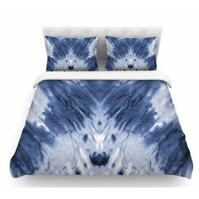 Dye  Featherweight Duvet Cover Size: King