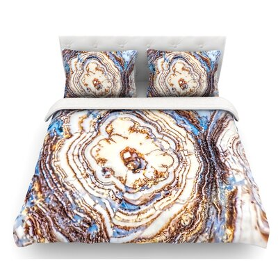 Crystal Agate  Featherweight Duvet Cover Size: Queen