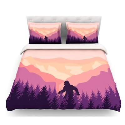 Big Foot  Featherweight Duvet Cover Size: Twin
