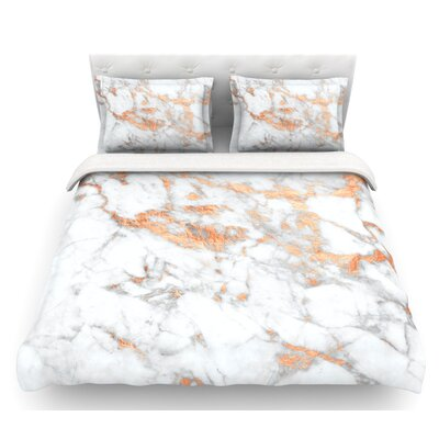 Flake  Featherweight Duvet Cover Size: Queen