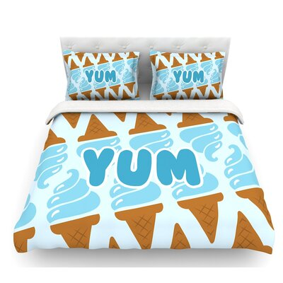 Yum!  Ice Featherweight Duvet Cover Size: Twin
