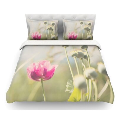Looking Up by Laura Evans Featherweight Duvet Cover Size: King