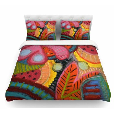 Tropic Delight by Jeff Ferst Featherweight Duvet Cover Size: King