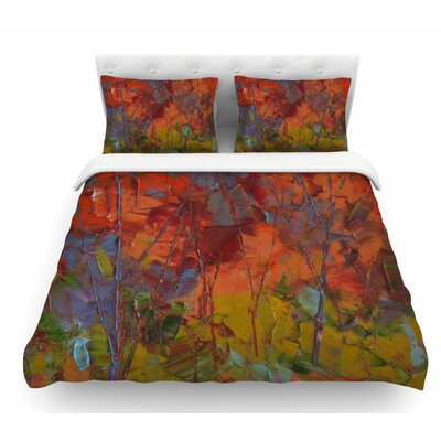 Fall Colors by Jeff Ferst Featherweight Duvet Cover Size: Queen