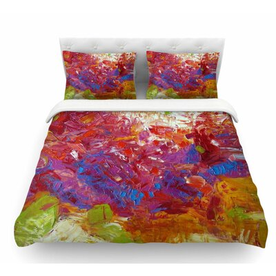 Sonoran Fantasy by Jeff Ferst Abstract Featherweight Duvet Cover Size: Twin