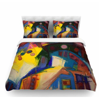 New York Chic by Jeff Ferst Featherweight Duvet Cover Size: Queen