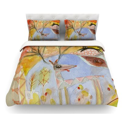 Promise of Magic by Marianna Tankelevich Featherweight Duvet Cover Size: Queen
