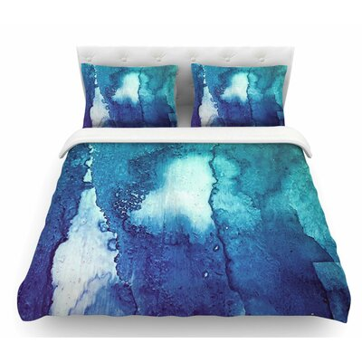 Abstract Series 1 by Malia Shields Featherweight Duvet Cover Size: King
