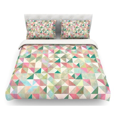 Graphic 75 by Mareike Boehmer Featherweight Duvet Cover Size: Queen, Fabric: Woven Polyester