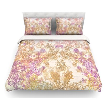 Retro Summer by Marianna Tankelevich Featherweight Duvet Cover Size: Queen