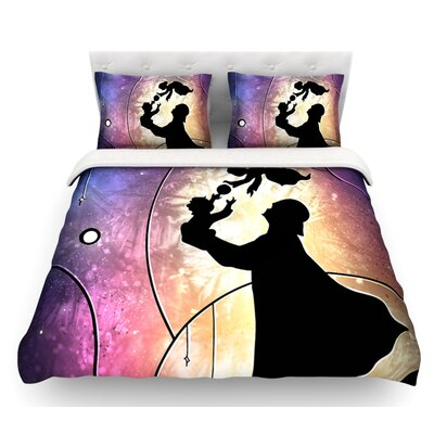 Fathers Day by Mandie Manzano Star Wars Featherweight Duvet Cover Size: King/California King, Fabric: Woven Polyester
