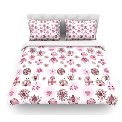 Cute Stuff by Marianna Tankelevich Illustration Featherweight Duvet Cover Size: Twin