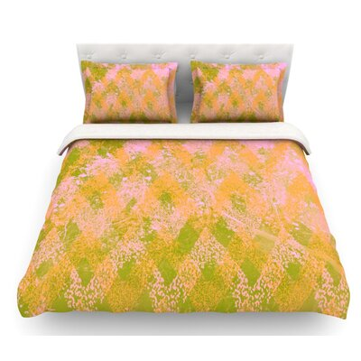Fuzzy Feeling by Marianna Tankelevich Featherweight Duvet Cover Size: Full/Queen, Fabric: Woven Polyester