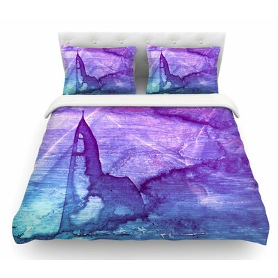 Abstract Series 2 by Malia Shields Featherweight Duvet Cover Size: Twin