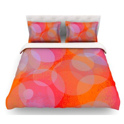Six by Marianna Tankelevich Featherweight Duvet Cover Size: King, Fabric: Woven Polyester