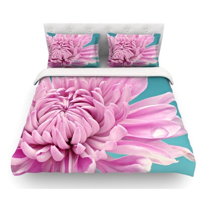 Dream by Nastasia Cook Flower Featherweight Duvet Cover Size: King