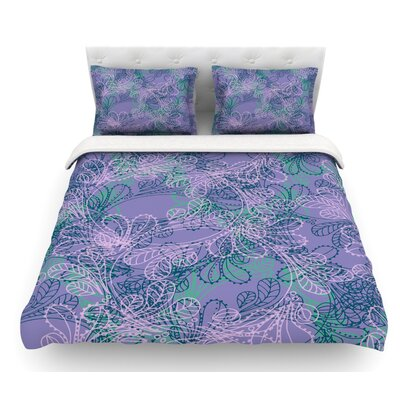 Jaipur Juniper by Patternmuse Featherweight Duvet Cover Size: King
