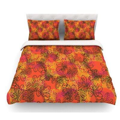 Jaipur by Patternmuse Featherweight Duvet Cover Size: Queen