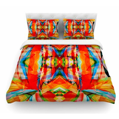 Motley by Matthias Hennig Featherweight Duvet Cover Size: King