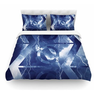 Hurricane by Matt Eklund Featherweight Duvet Cover Size: Twin