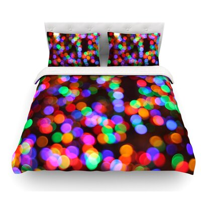 Lights II by Maynard Logan Featherweight Duvet Cover Size: King