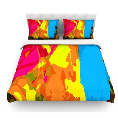 Colored Plastic by Matthias Hennig Featherweight Duvet Cover Size: Queen, Fabric: Lightweight Polyester