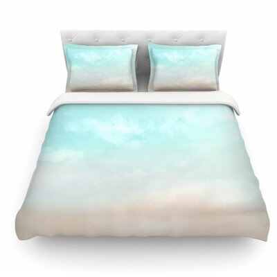 Vintage by Michelle Drew Featherweight Duvet Cover Color: Blue, Size: King