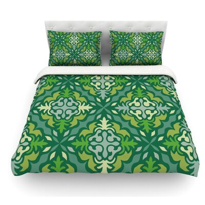 Yulenique by Miranda Mol Featherweight Duvet Cover Size: Twin, Fabric: Woven Polyester