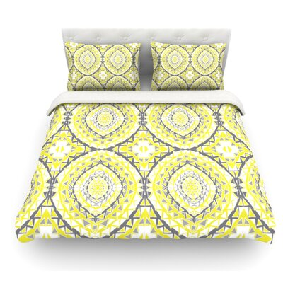 Tessellation by Miranda Mol Featherweight Duvet Cover Size: Twin