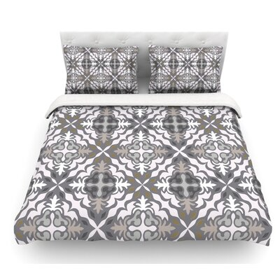 Let it Snow by Miranda Mol Featherweight Duvet Cover Size: Twin, Fabric: Woven Polyester