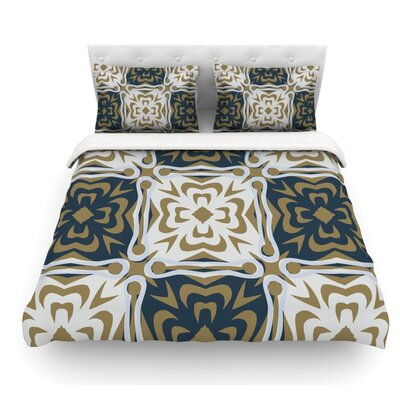 Contemporary Granny by Miranda Mol Featherweight Duvet Cover Size: Twin, Fabric: Woven Polyester