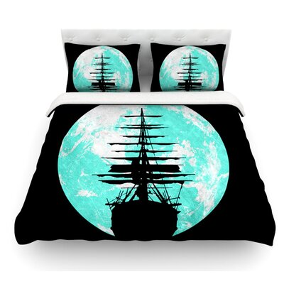 Voyage by Micah Sager Featherweight Duvet Cover Size: Twin, Fabric: Lightweight Polyester