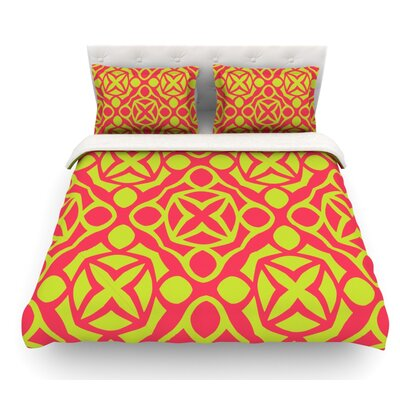 Holiday by Miranda Mol Featherweight Duvet Cover Size: Twin