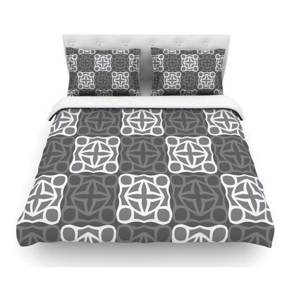 Granny Goes Modern by Miranda Mol Featherweight Duvet Cover Size: Twin, Fabric: Woven Polyester