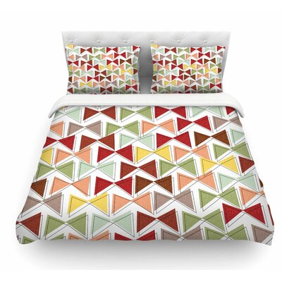 Bowties by Michelle Drew Featherweight Duvet Cover Size: Queen
