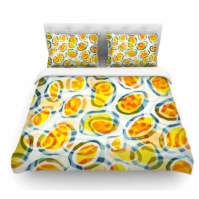 Sunny Places by Matthias Hennig Featherweight Duvet Cover Size: Queen